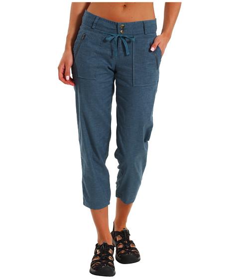 Pantaloni Prana - Savannah Crop - Blue Jean