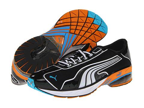 Adidasi PUMA - Toori Run M - Black/White/Flame Orange
