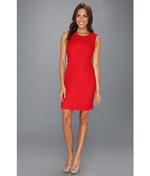 Rochii Calvin Klein - Ponte Sleeveless Compression Dress - Red