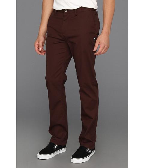 Pantaloni DC - DCî Straight Chino Pant - Dark Brown