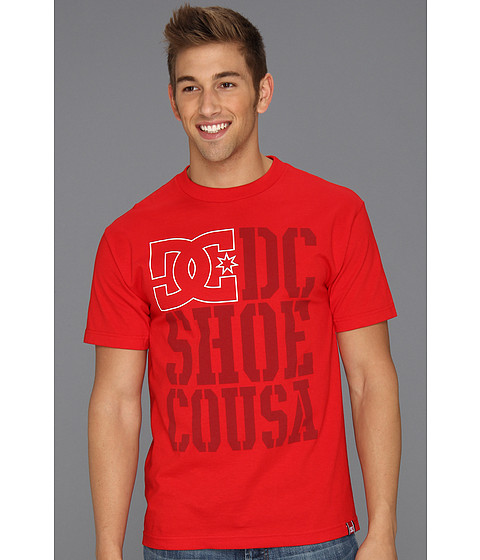 Tricouri DC - Rob Dyrdek USA Light Stacked T-Shirt - Red