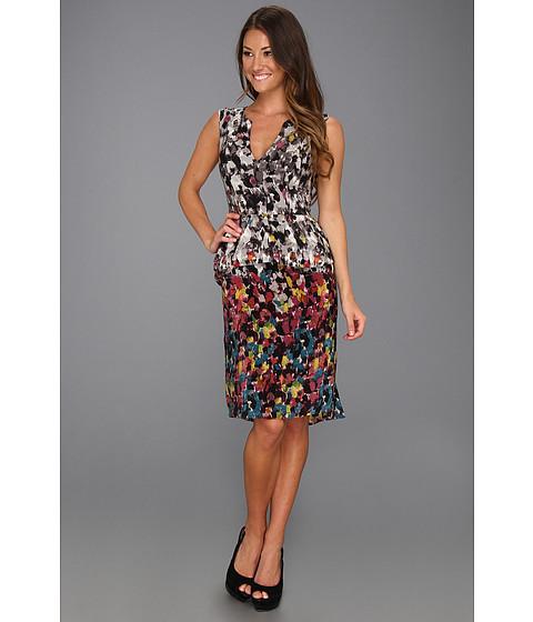 Rochii BCBGMAXAZRIA - Amalia Sleeveless Dress - Bordeaux Combo
