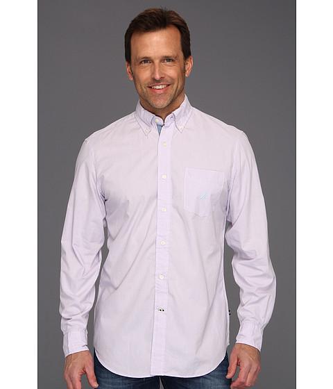 Bluze Nautica - Solid Vineyard Poplin Button Down L/S Shirt - Pastel Lilac