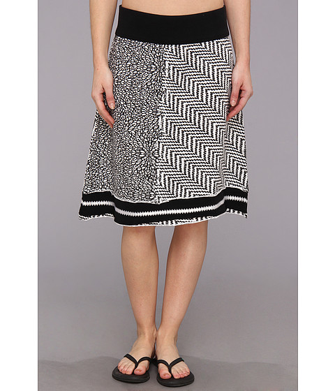 Fuste Prana - Lisette Skirt - Black/White