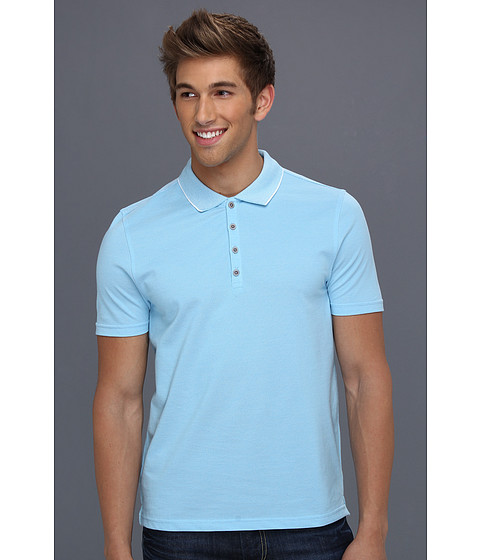 Tricouri Perry Ellis - S/S Iridescent Polo - Azzuro