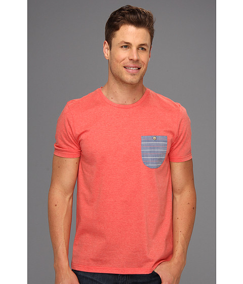 Tricouri Ted Baker - Mezsure Contrast Pocket Tee - Red