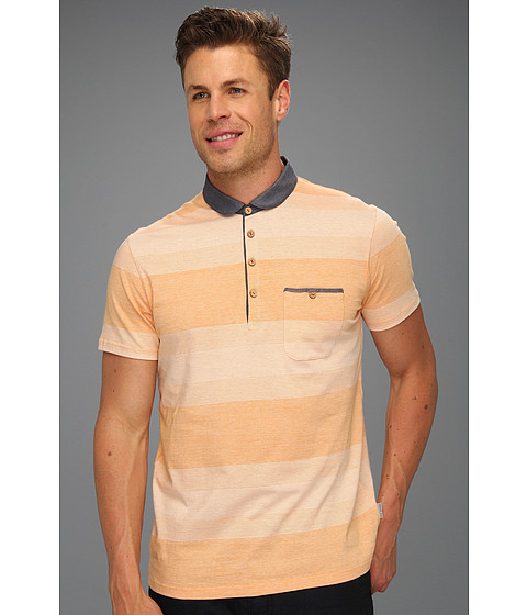 Tricouri Ted Baker - Wedidit Curved Collar Polo - Gold