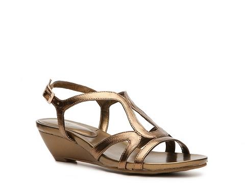 Pantofi Abella - Ingie Wedge Sandal - Bronze