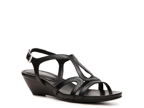 Pantofi Abella - Ingie Wedge Sandal - Black