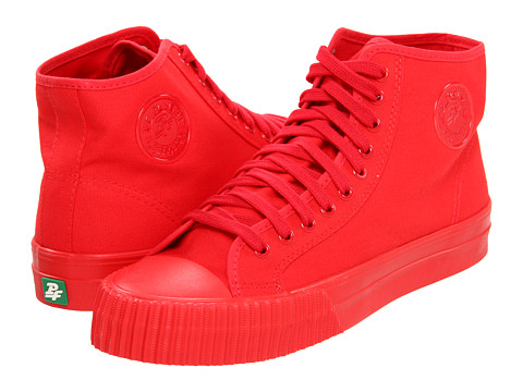 Adidasi PF Flyers - Center Hi - Red 3