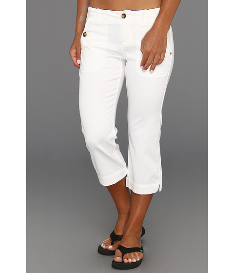 Pantaloni Lole - Promenade Capri - White