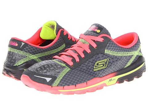 Adidasi SKECHERS - GORun 2 - Supreme - Charcoal Hot Pink