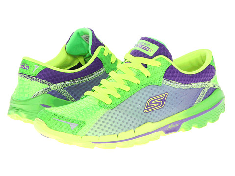 Adidasi SKECHERS - GORun 2 - Supreme - Green Purple