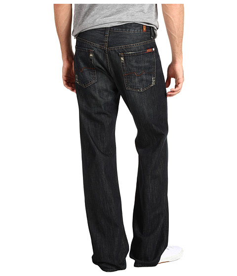 """Blugi 7 For All Mankind - Relaxed 36\"""" Long in Montana - Montana"""
