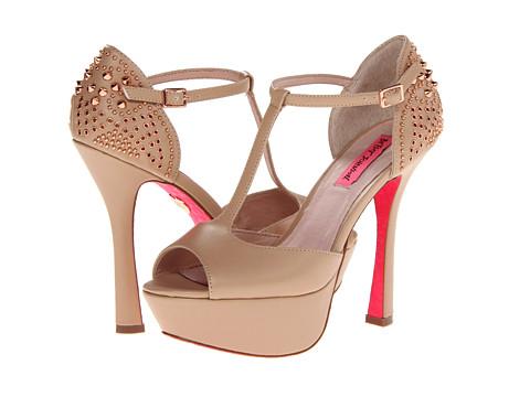 Pantofi Betsey Johnson - Alexiis - Nude