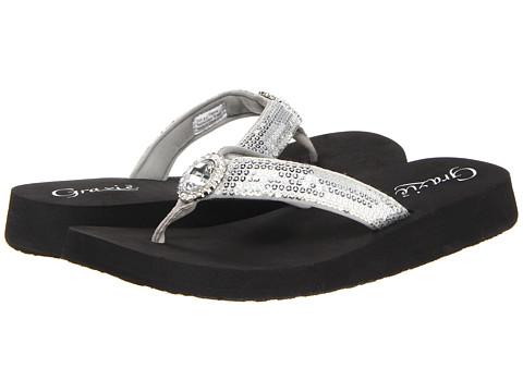 Sandale Grazie - Glance - Silver
