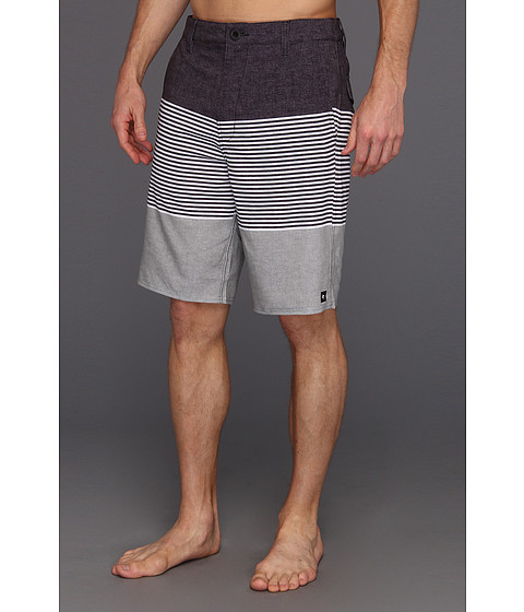Pantaloni Rip Curl - Mirage Right Stripe Boardwalk Hybrid Short - Black