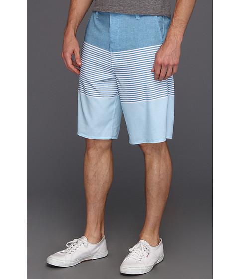 Pantaloni Rip Curl - Mirage Right Stripe Boardwalk Hybrid Short - Blue