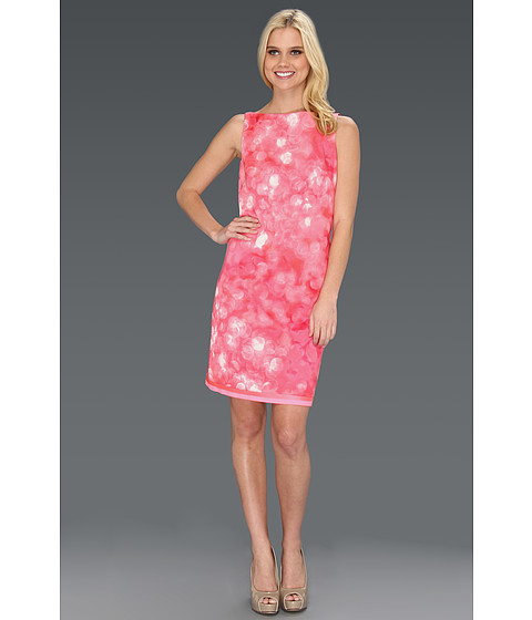 Rochii Elie Tahari - Alyse \Dreamscape\ Printed Dress - Full Bloom