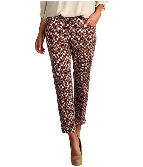 Pantaloni Christin Michaels - Shanee Printed Pant - Cayenne Multi