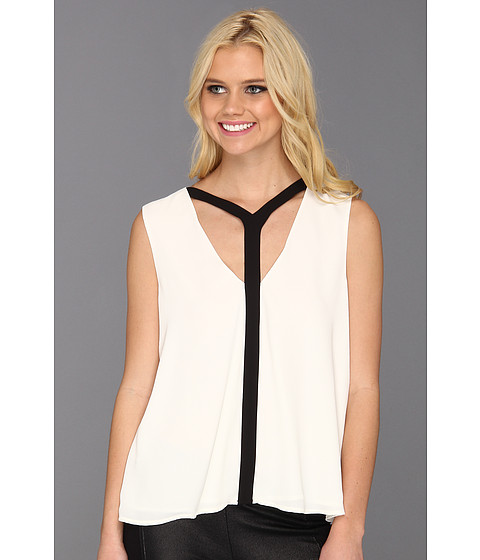 Bluze BCBGMAXAZRIA - Danica Cutout Top - Off White