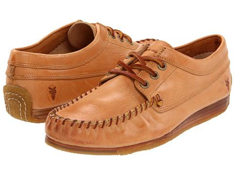 Pantofi Frye - Austin Oxford - Natural/Soft Pebbled Full Grain