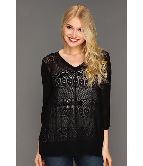 Bluze Christin Michaels - Nalia Sweater - Onyx