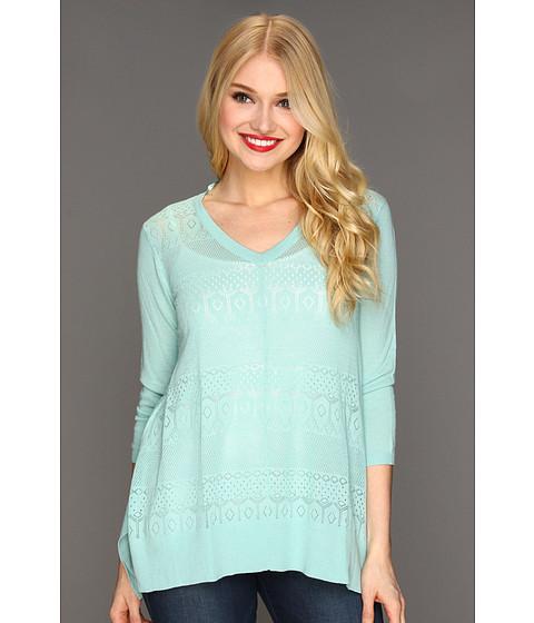 Bluze Christin Michaels - Nalia Sweater - Seafoam