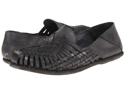 Pantofi Frye - Lawson Slip - Grey Dipped Veg Tan