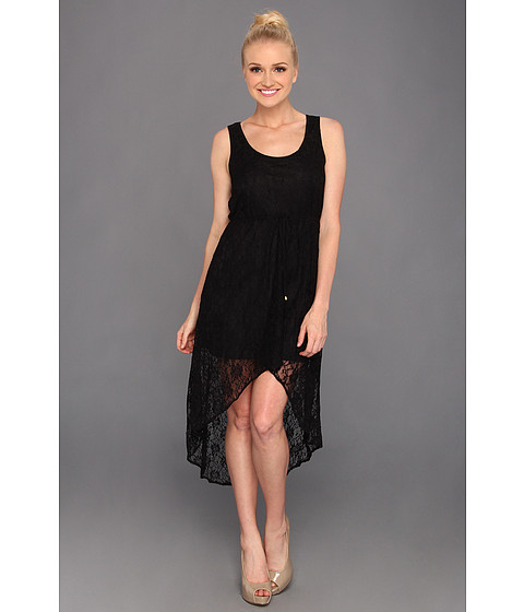 Rochii Gabriella Rocha - Tyrin Lace High-Low Dress - Black