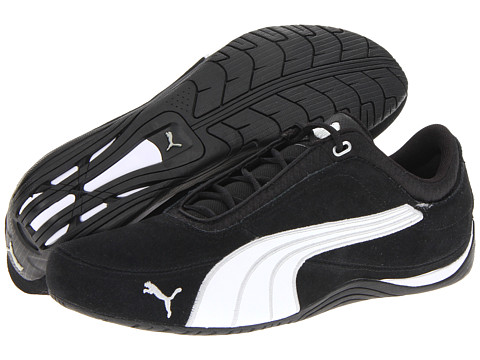 Adidasi PUMA - Drift Cat 4 Mix - Black/White/Silver