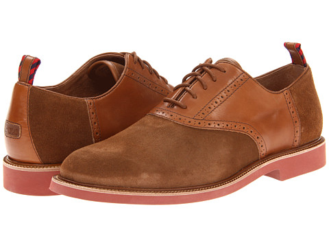 Pantofi Polo Ralph Lauren - Torrington Saddle - Snuff