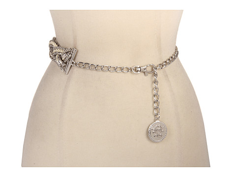 Curele Jessica Simpson - Chain Belt With Rope and Jessica Simpson Logo - Nickel