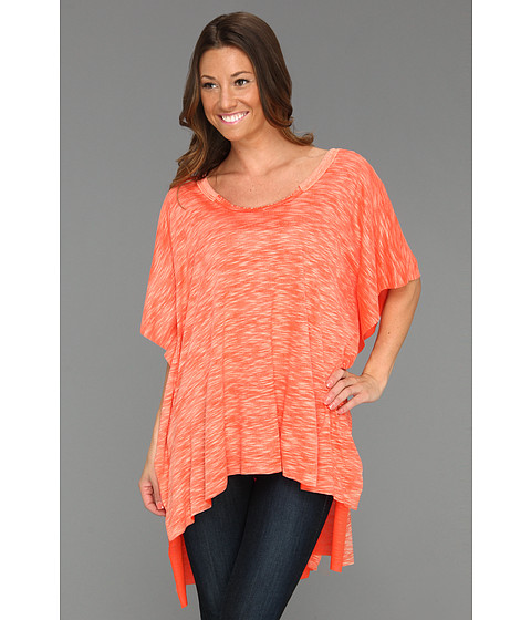 Tricouri Free People - Big Moment Tee - Spiced Coral