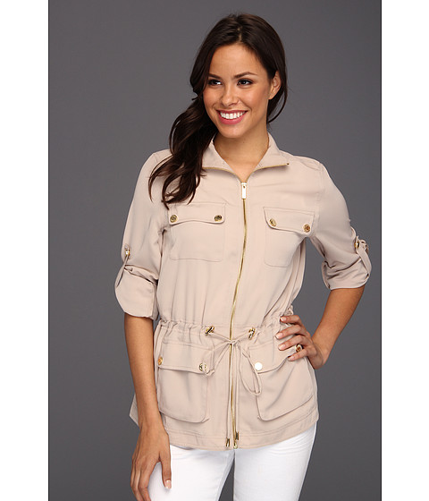 Sacouri Calvin Klein - Camp Jacket - Latte
