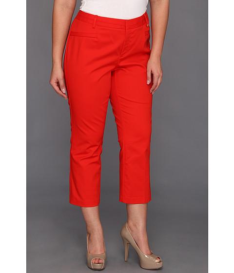 Pantaloni Calvin Klein - Plus Size Crop Skinny Pant - Tango Red