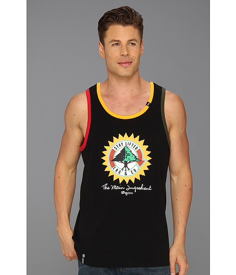 Bluze L-R-G - The Main Ingredient Tank Top - Black