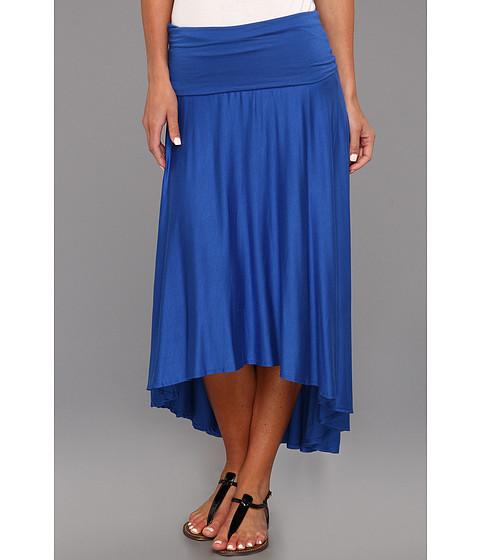 Fuste Culture Phit - Gemmah High-Low Flowy Skirt - Royal
