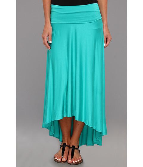 Fuste Culture Phit - Gemmah High-Low Flowy Skirt - Light Jade