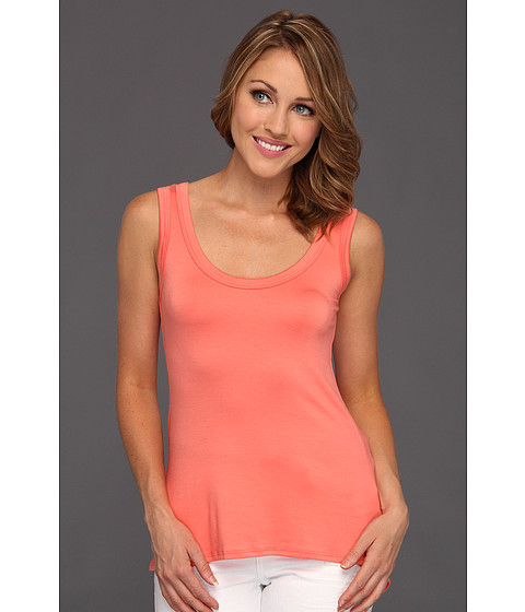 Bluze Culture Phit - Ferna Modal Tank Top - Coral