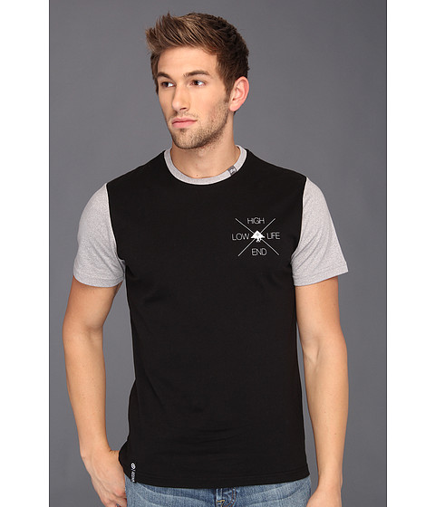 Tricouri L-R-G - Slim Fit High End Tee - Black