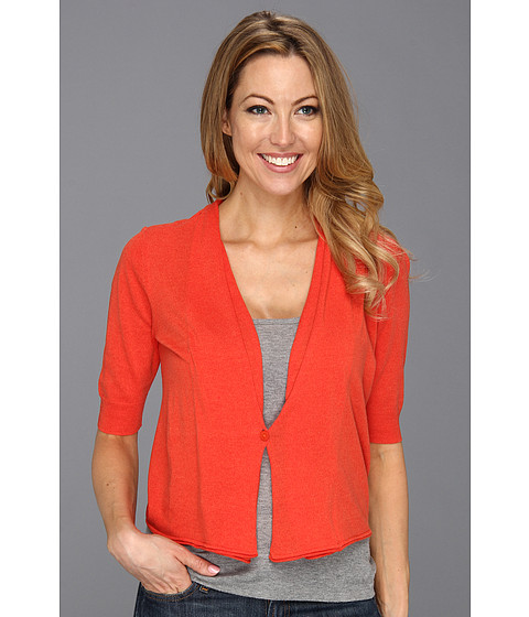 Pulovere NIC+ZOE - Caliente Summer Night Cardy - Hot Salsa
