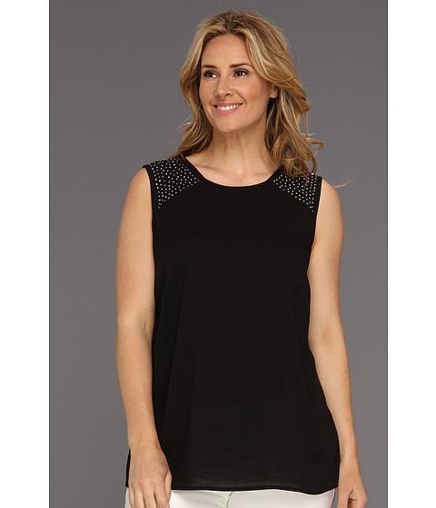 Tricouri Calvin Klein - Plus Size Sequin Shoulder Tank - Black