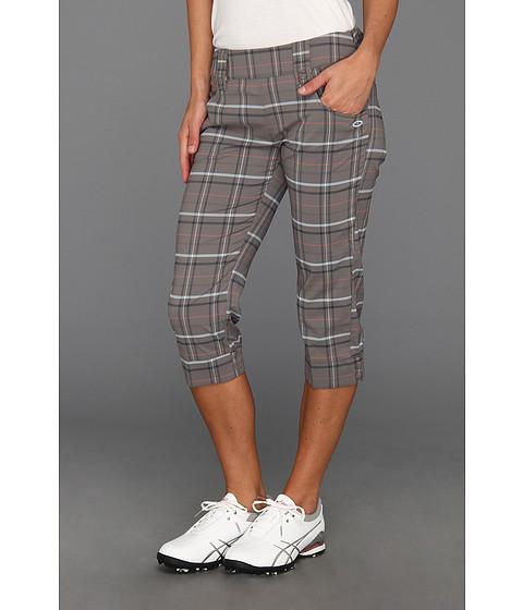 Pantaloni Oakley - Palm Plaid Capri - Pewter
