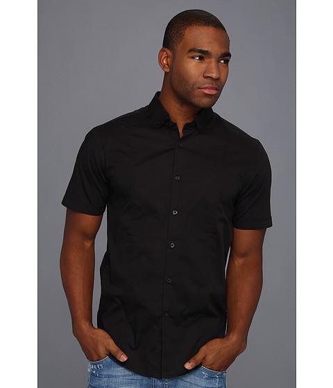Camasi ECKO - Slim Fit Stretch Shirt - Black