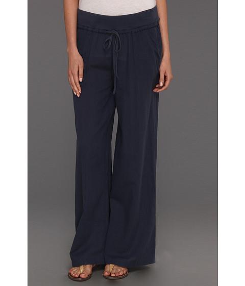 Pantaloni DKNY - Dobby Stripe Palazzo Pant - Mood Indigo