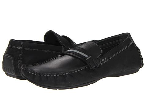 Pantofi Steve Madden - Grant - Black Leather