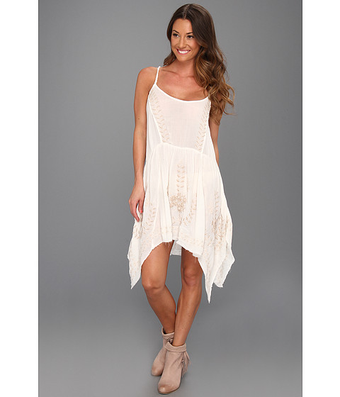 Rochii Free People - Meadows Of Medallion Slip - Ivory Combo