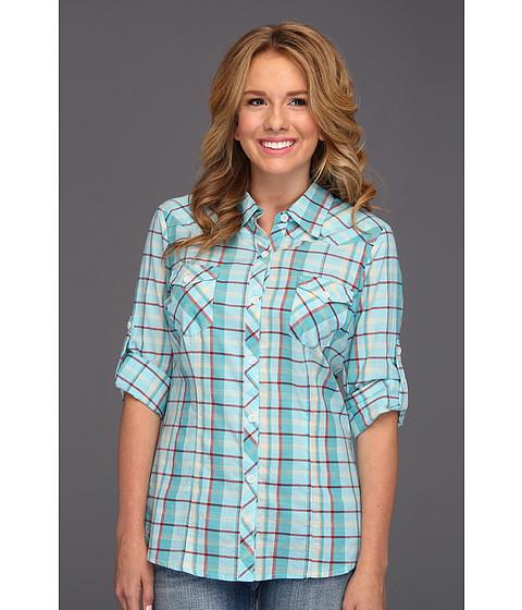 Camasi Roper - 8626 Plaid Shirt - Blue