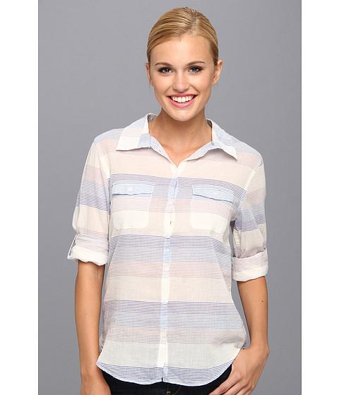 Camasi Horny Toad - Airbrush L/S Shirt - Blue Print Stripe